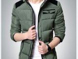 35元新款男士冬季棉衣冬装棉袄韩版百搭男装青少年加厚外套潮