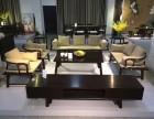 福州新款新中式黑檀叙榻沙发8件套简约大方红森林新品
