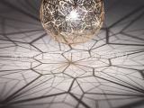 品牌Tom Dixon钻石不锈钢缕空网吊灯简约现代个性创意餐吊灯具