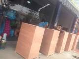 广州番禺订做木箱 出口木箱 免熏蒸木箱 现场定做厂家