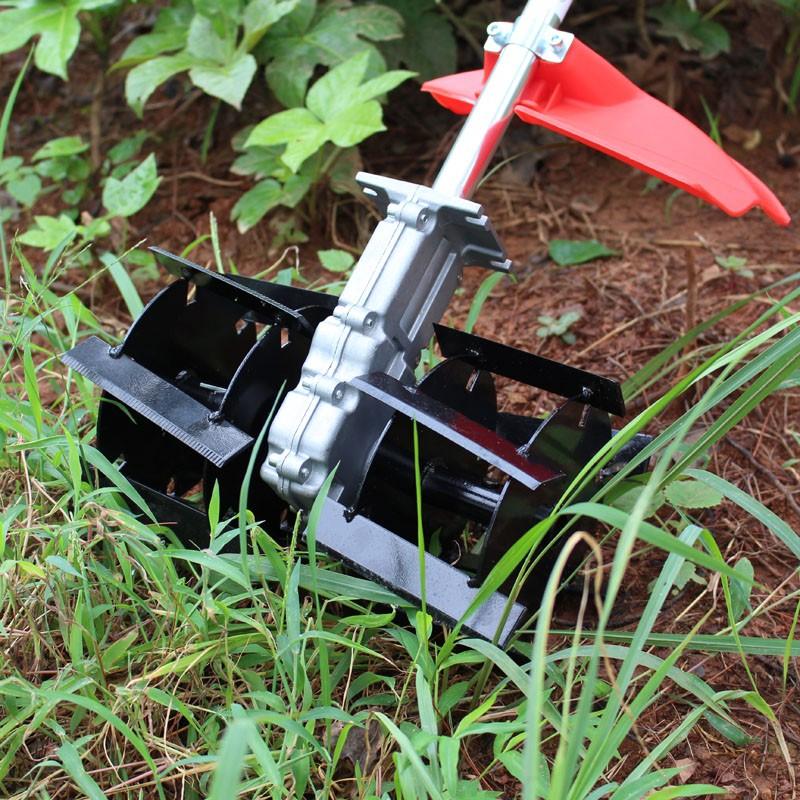 一台锄草机价格 小型除草机最新价格 背负式电动锄头批发价