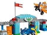 积木 塑料玩具 飞机玩具汽车总动员 乐高式玩具外贸儿童拼插玩具