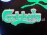 最新材料发光字 天河门头招牌制作 香港工艺树脂字 无缝环氧树脂
