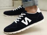 飞鹿之星2014秋季新款韩版N字帆布鞋男士休闲鞋厂家直销一件代发