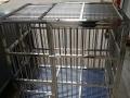 两个狗笼9成新。