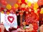 泉州气球宝宝宴布置、婚宴布置、成人礼布置、小丑派发