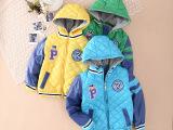 2014冬季爆款儿童棉衣 韩国小熊童装专柜新款男童棉衣连帽棉服9