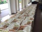 專業承接溫江區50份以上大型外賣快餐看房團餐會議盒