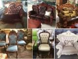 沙发翻新 沙发换簧 沙发换皮椅子换面 墙面软包制作