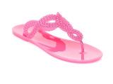 新款镂空闪粉果冻人字拖 女 拖鞋 夏季 pvc休闲沙滩女鞋 厂家