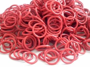 厂家定制 环保食品级硅胶圈防水圈 O型密封圈现货批发