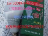 摔不坏LED灯泡1瓦节能灯球泡跑江湖地摊最新暴利热销跑江湖产品