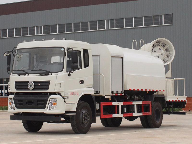 河北东风天锦100米雾炮车喷雾多功能抑尘车生产厂家价格图片