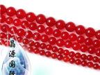DIY 手工配件半成品 批发 圆珠 散珠 水晶饰品 红色玉髓 可做手链