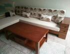全新转角休闲实木沙发
