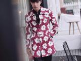 2014秋装男士风衣韩国时尚花美男修身薄款风衣外套中长款风衣潮男