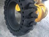 小型号小装载机实心铲车轮胎8.25-16
