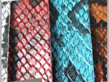 新款蛇纹皮革多色可选时尚箱包手袋化妆盒装