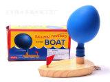 木制玩具批发 婴幼儿宝宝儿童益智早教玩具 木制吹气球玩具气球船