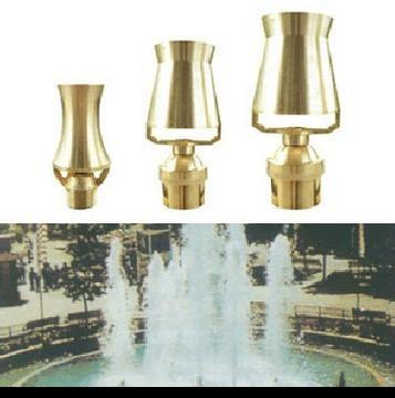 石家庄市厂家供应喷泉水景雾化喷头不锈钢螺旋直流喇叭花塔松喷头