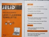 光学拭镜纸 眼镜消毒纸 光学镜片镜头清洁纸 屏幕湿巾【JELID