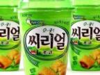 韩国食品/韩国食品批发/乐天麦片巧克力饼干桶94g