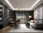 深圳南山区西丽欧式客厅别墅装修效果图