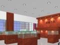 北京货架展柜定做精品钛合金玻璃展柜烟酒柜台