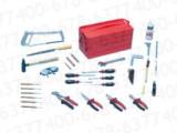 wurth,伍尔特,组套钳工工具(铁质工具箱,53件套)