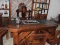 定制老船木茶桌椅组合船木茶台茶几家具仿古原生态客厅简约茶几