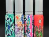 批发软陶分装香水瓶 10ML喷雾香水瓶 空香水瓶子玻璃瓶走珠瓶