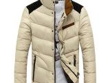2014新爆款男式棉服 立领修身时尚百搭加厚棉衣外套韩版潮流棉袄
