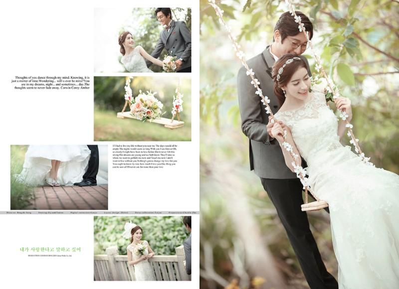 私人订制婚纱照不满意重拍价格实惠实景拍摄
