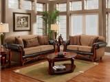 成都整裝小蝸置家環保家具 實木沙發