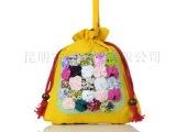 云南民族风手工布艺包批发 布艺斜挎包手提包 儿童包零钱包化妆包