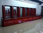 精品钛合金酒柜货架手办模型样品玻璃展示柜子