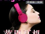 彩色手机耳机 厂家直销 运动耳麦带麦克风 环保材料 欧美高端耳机