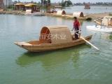 纯手工制作木船 乌蓬船