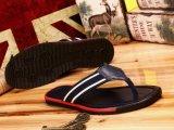 新款欧美休闲时尚大牌男鞋真皮夹趾男拖鞋防滑沙滩凉拖鞋人字拖男