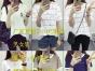 便宜韩版时尚夏季纯棉女士T恤批发便宜半袖小衫批发厂家