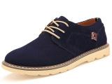 厂家直销 百搭系带透气低帮鞋反绒皮高品质鞋子男鞋休闲运动板鞋