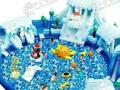 大型室外陆地冲关;水上乐园;支架水池;充气城堡;水上滑梯等