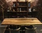 全新转让胡桃木书桌会议桌休闲桌, 现货, 价优