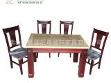 特惠厂家批发订做餐台 实木家具 大理石餐桌椅组合B306-106