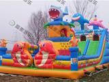 儿童室外游乐园 儿童广场玩具就选充气气垫