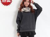 韩国韩版春季圆领学生卫衣女式厂家批发女士套头卫衣绒衫批发