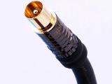 厂家直销 有线电视信号线数字机顶盒射频线高清电视闭路线 5米