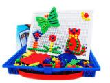 开发潜力玩具蘑菇钉丁组合插板大号361粒拼插珠3-7岁儿童玩具0