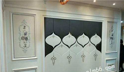欧莱漫背景墙 教您如何安装合适的护墙板