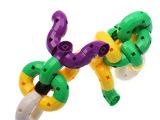 【厂家直销】高质量早教益智拼插拼装玩具 塑料万通积木箱装